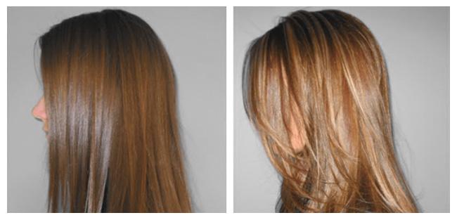 3d окраска волос