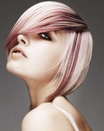 Цветовой дизайн при окрашивании волос