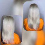 Окрашивание волос в салоне красоты
