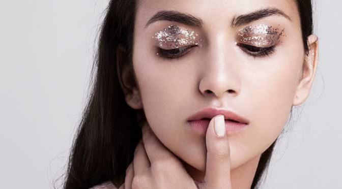 блеск в макияже